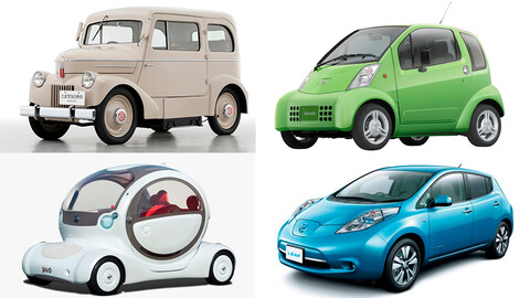 Los 12 coches de Nissan que anticiparon el futuro eléctrico de la marca