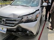 Cesvi México realiza prueba de choque al Honda CR-V 2014