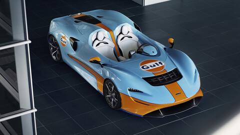 McLaren Elva se viste de Gulf para poder incrementar sus ventas