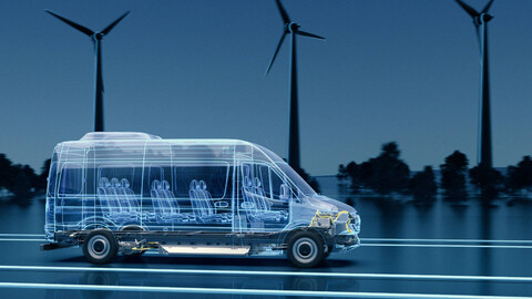 Mercedes-Benz eSprinter contará con una plataforma modular