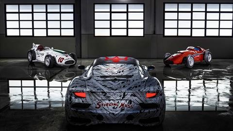 El Maserati MC20 homenajea a Sir Stirling Moss