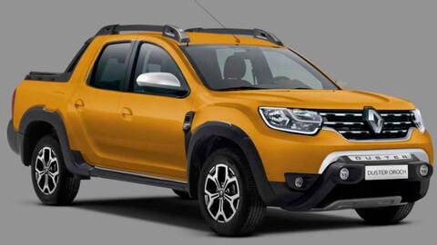 Nueva Renault Oroch: una idea de cómo sería