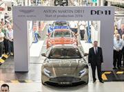 Aston Martin DB11 inicia producción