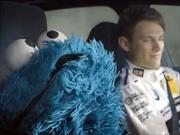 Marco Wittman y Cookie Monster en el BMW Serie 1