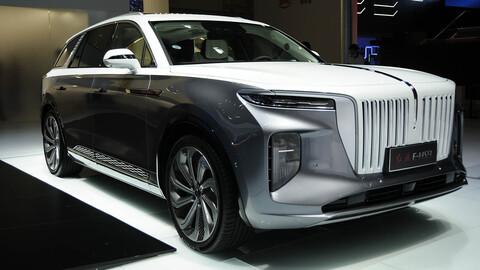 Hongqi E-HS9 el RR SUV eléctrico de Beijing 2020