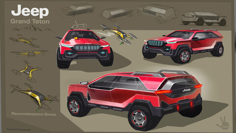 Jeep descubre jóvenes talentos en diseño y ya tiene ganadores