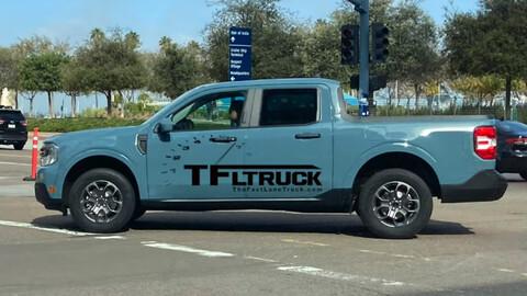 Ford Maverick abandona el camouflage