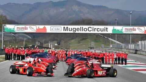 Ferrari celebrará sus 1.000 carreras en Fórmula 1 en Mugello