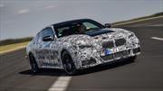 BMW trata de ocultar sin éxito el nuevo frente de su próximo Serie 4
