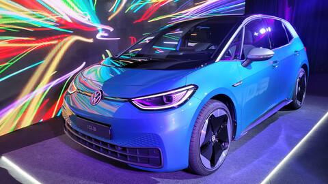 En persona VW ID.3 e ID.4 los autos eléctricos en Argentina