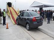 General Motors estrena acceso de vía en San Luis Potosí