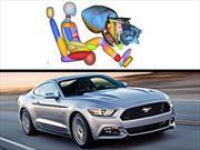 El nuevo Ford Mustang 2015 con bolsa de aire de rodilla en la guantera