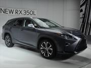 Lexus RX 350L 2018 debuta