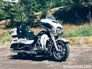Manejamos la Harley-Davidson Electra Glide Ultra Classic 2015