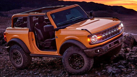 Ford Bronco tendría una variante pick up