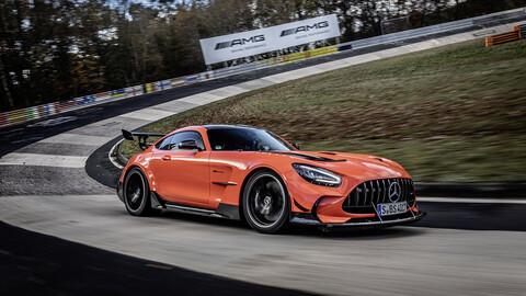 Mercedes-AMG GT Black Series supera a Lamborghini en Nürburgring y establece un nuevo record