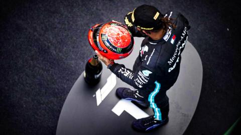 F1 2020: Hamilton iguala el récord de victorias de Schumacher