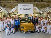 Volkswagen de México celebra la producción de 11 millones de unidades