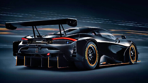 McLaren 720S GT3X: El modelo de pista pero con toda su furia liberada