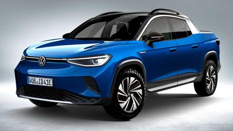 ¿Y si la Volkswagen Tarok es eléctrica? Así queda el ID.4 como pick-up