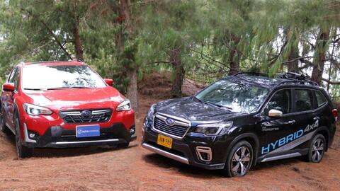 Tecnología Subaru e-Boxer a prueba