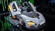 McLaren Senna de tamaño real al estilo LEGO debuta