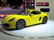 Porsche Cayman Coupé Mk2 2013 debuta en el Salón de  Los Angeles