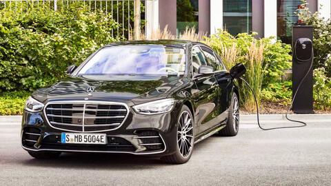 Mercedes-Benz S 580e: Lujoso y eléctrico