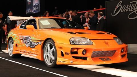La venta del Toyota Supra de Rápido y Furioso superó todas las expectativas