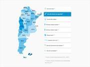 Lanzan el mapa interactivo de seguridad vial