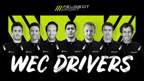 WEC: Peugeot ya tiene a sus siete pilotos