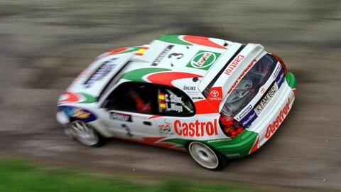 Toyota nos muestra los autos japoneses que hicieron historia en el WRC