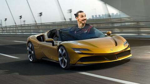 Zlatan Ibrahimovic festeja sus 40 años regalándose una Ferrari SF90 Spider