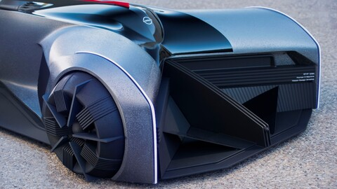 El Nissan GT-R 2050 en la mente de un estudiante