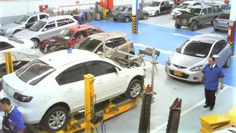 Así se preparan los talleres automotrices para reactivar servicios