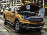 Estados Unidos ya puso a producir a la Ford Ranger