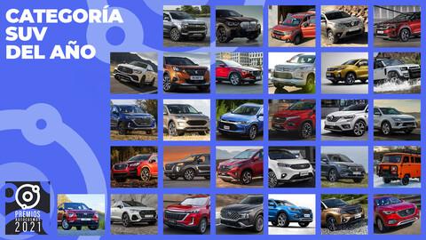 Premios Autocosmos: los candidatos al SUV de 2021