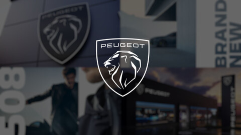 Así es el nuevo logo de Peugeot