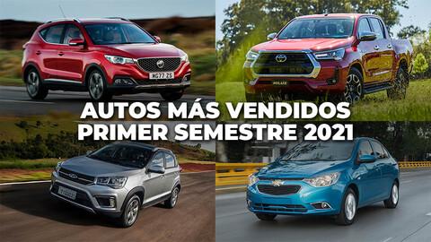 Los autos más vendidos en Chile en la primera mitad de 2021