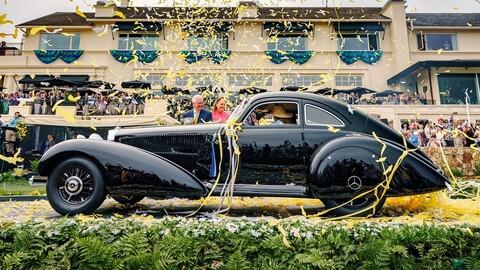 Mercedes-Benz 540 K Autobahn Kurier 1938 es el Best of Show de Pebble Beach 2021