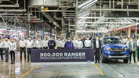 Ford Ranger alcanzó las 900.000 unidades producidas en Pacheco
