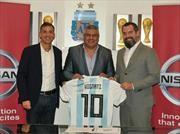 Nissan es el nuevo patrocinador de la Selección Argentina