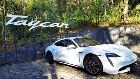 Primer contacto con el Porsche Taycan