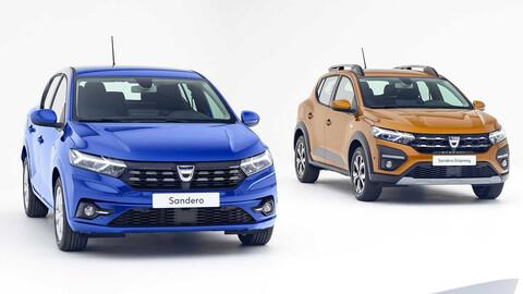 Dacia presenta los nuevos Sandero, Logan y Stepway 2021