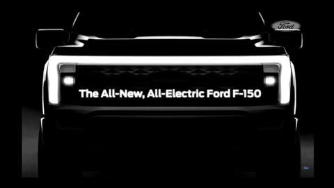 Ford comienza a develar la inédita F-150 eléctrica
