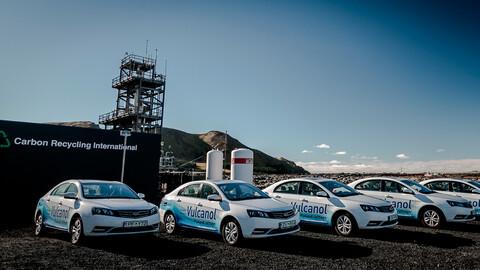 Geely está presionando para que se usen autos a base de metanol en China