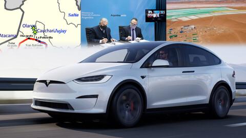 Argentina firma acuerdo para producir baterías de autos eléctricos