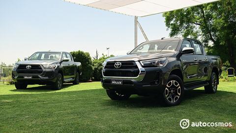 Toyota Hilux 2021 en Chile, con la misión de derrocar el reinado de la L200