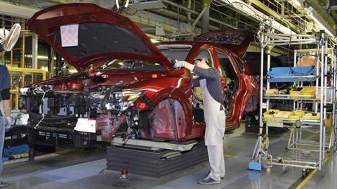 Mazda reinicia la producción en la planta de Salamanca el 1 de junio