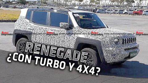 Ahora afirman que el Jeep Renegade Turbo tendrá versiones 4x4